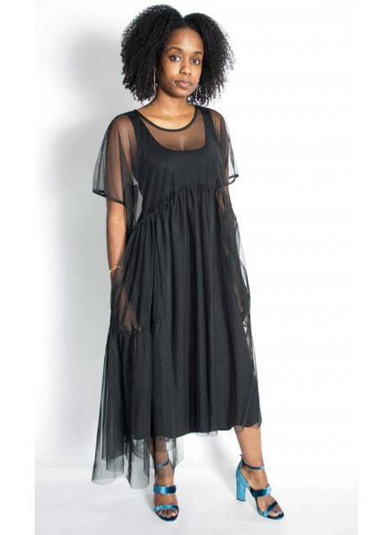 Alembika Sheer Dress