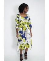 Water Color Linen Dress
