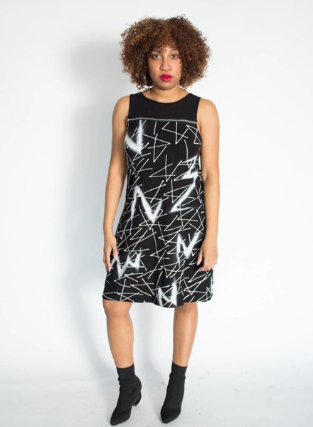 Rock N Karma Diagonal Dress