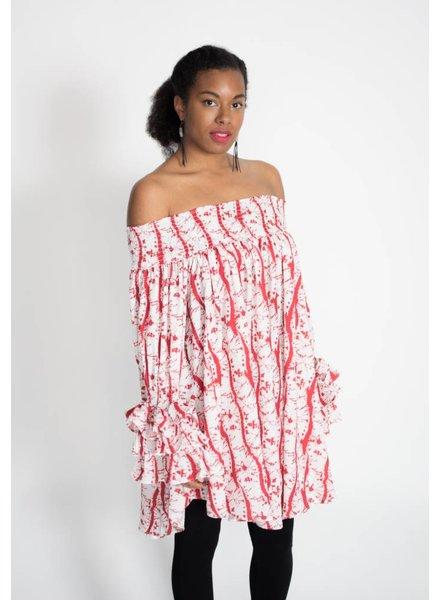 Gracia Geometric Printed Dress/Tunic