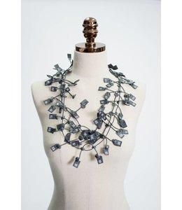 Annemieke Broenink- Size Tag Rubber Necklace