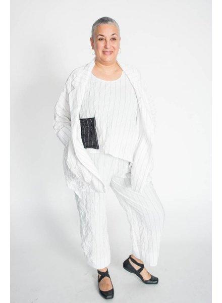 Heydari Crinkle Stripe Pants
