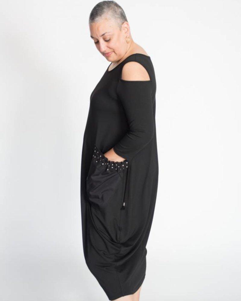 NY 77 Design NY 77 Design Cold Shoulder Dress