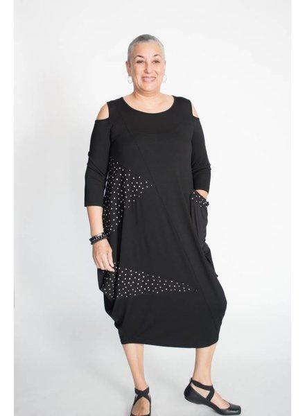 NY 77 Design Cold Shoulder Dress