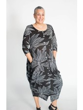 Alembika Tropical Leaf Dress