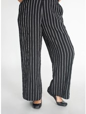 Alembika Stripe Crinkle Pant