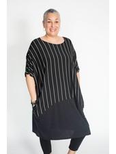 Alembika Stripe and Dot Dress