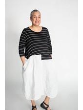 Alembika Stripe Contrast Dress