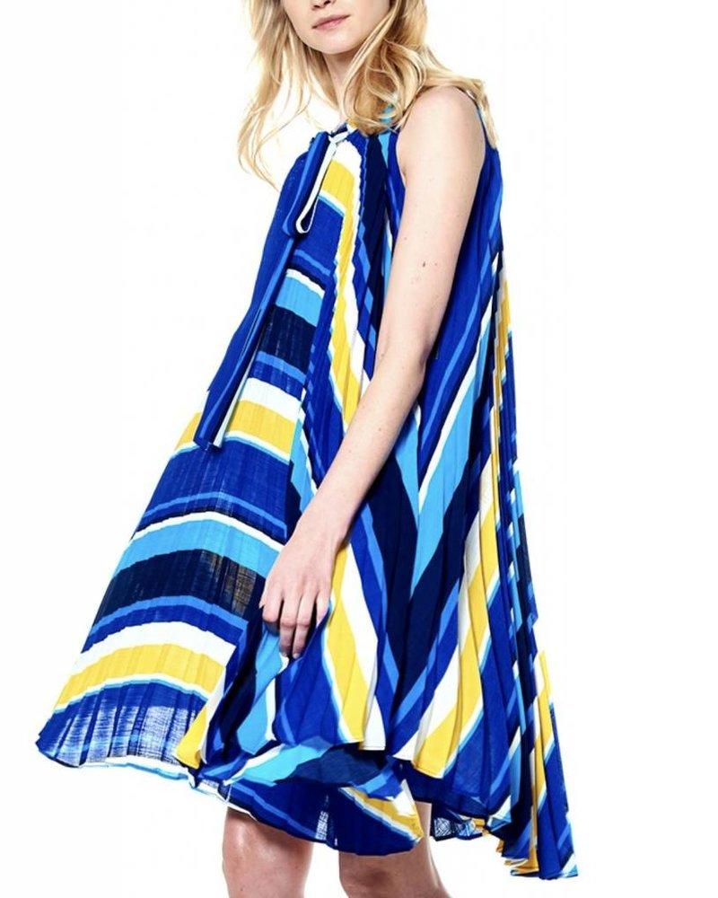 Gracia Gracia  Accordion Swing Dress
