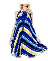 Gracia Accordion Swing Dress