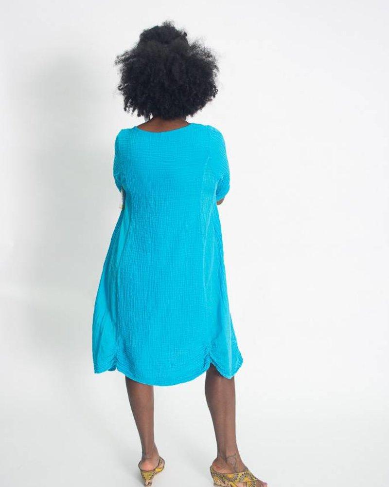 Nusantara Nusantara Thai 3/4 Sleeve Dress