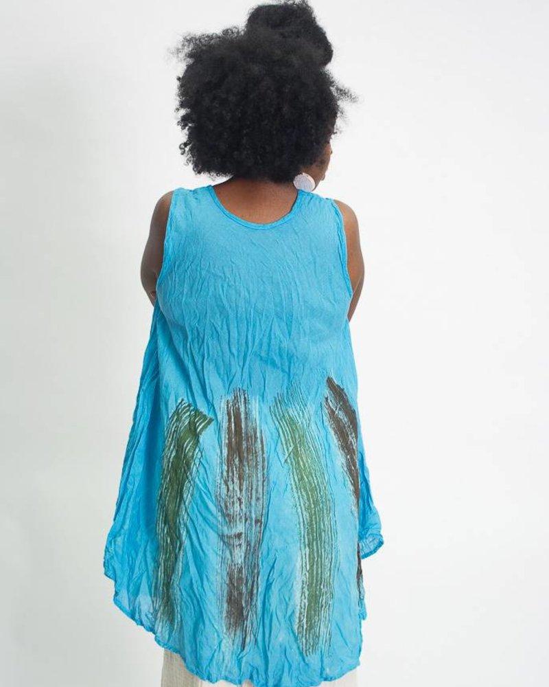 Nusantara Nusantara Watercolor Tank Dress