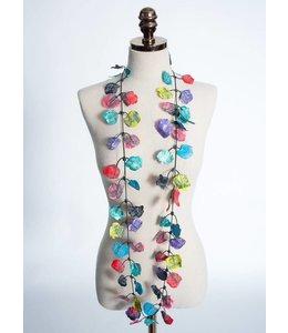 Lace Petal Necklace