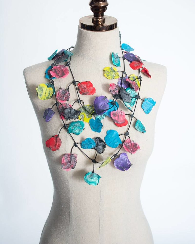 Annemieke Broenink Lace Petal Necklace