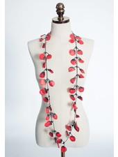 Annemieke Broenink Poppy Necklace | Red