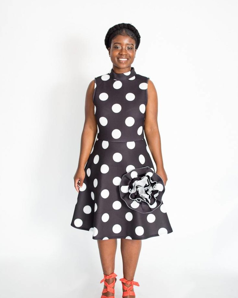 CQ Polka Dot Dress