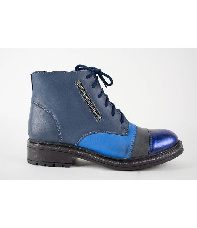 V-Italia Misty Blue Ankle Boot
