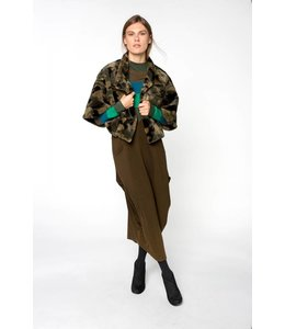Alembika Jungle Crop Jacket