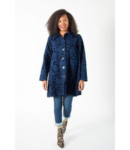 Color Me Cotton Textured Click Coat