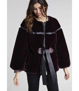 Lauren Vidal Fuzzy Jacket