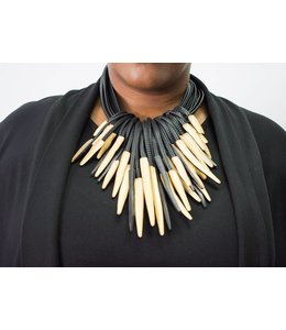 Monies Gold Multi Strand Necklace