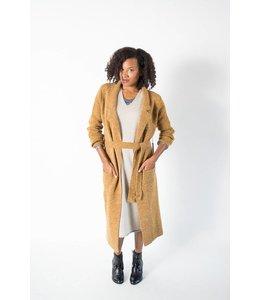 Sage Lapel Coat