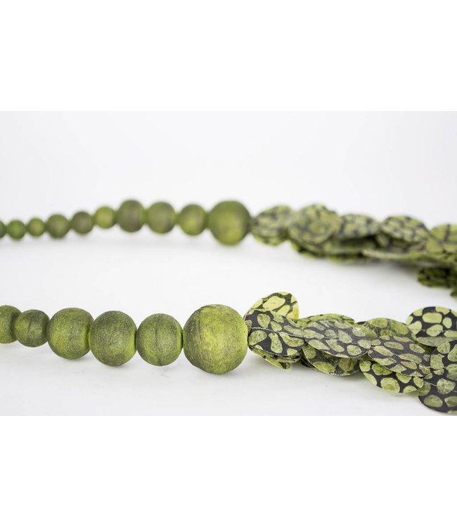 Ana Hagopian Multi-Strand Paper Necklace