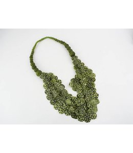 Ana Hagopian Multi-Strand Paper Necklace