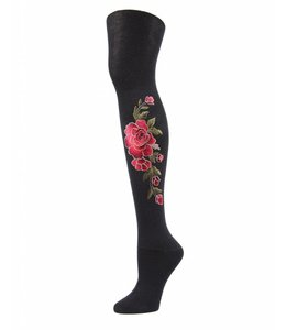 3D Floral Tights
