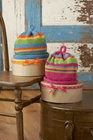 Yarn STRIPED HAT KIT