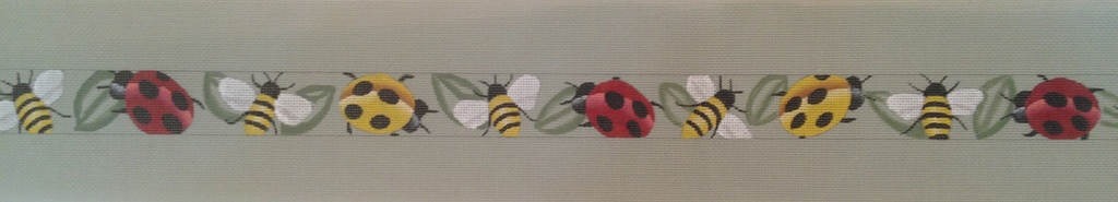 Canvas LADYBUGS, BEES AND LEAVES BELT BL173
