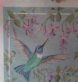Canvas HUMMINGBIRD WITH FUSCHIA  1759
