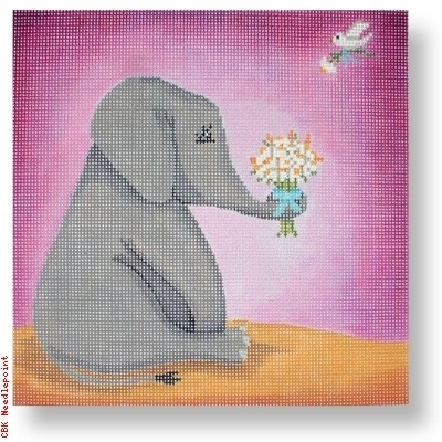 Canvas ELEPHANT SIMON  SBPL02