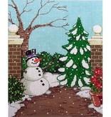 Canvas WINTER GARDEN  PS14