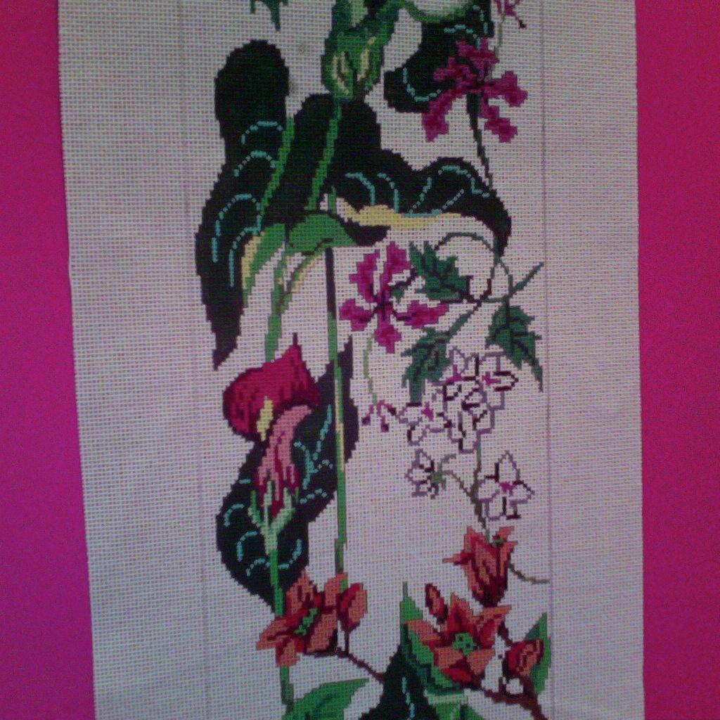 Canvas CALLA LILLY BELLPULL 3050