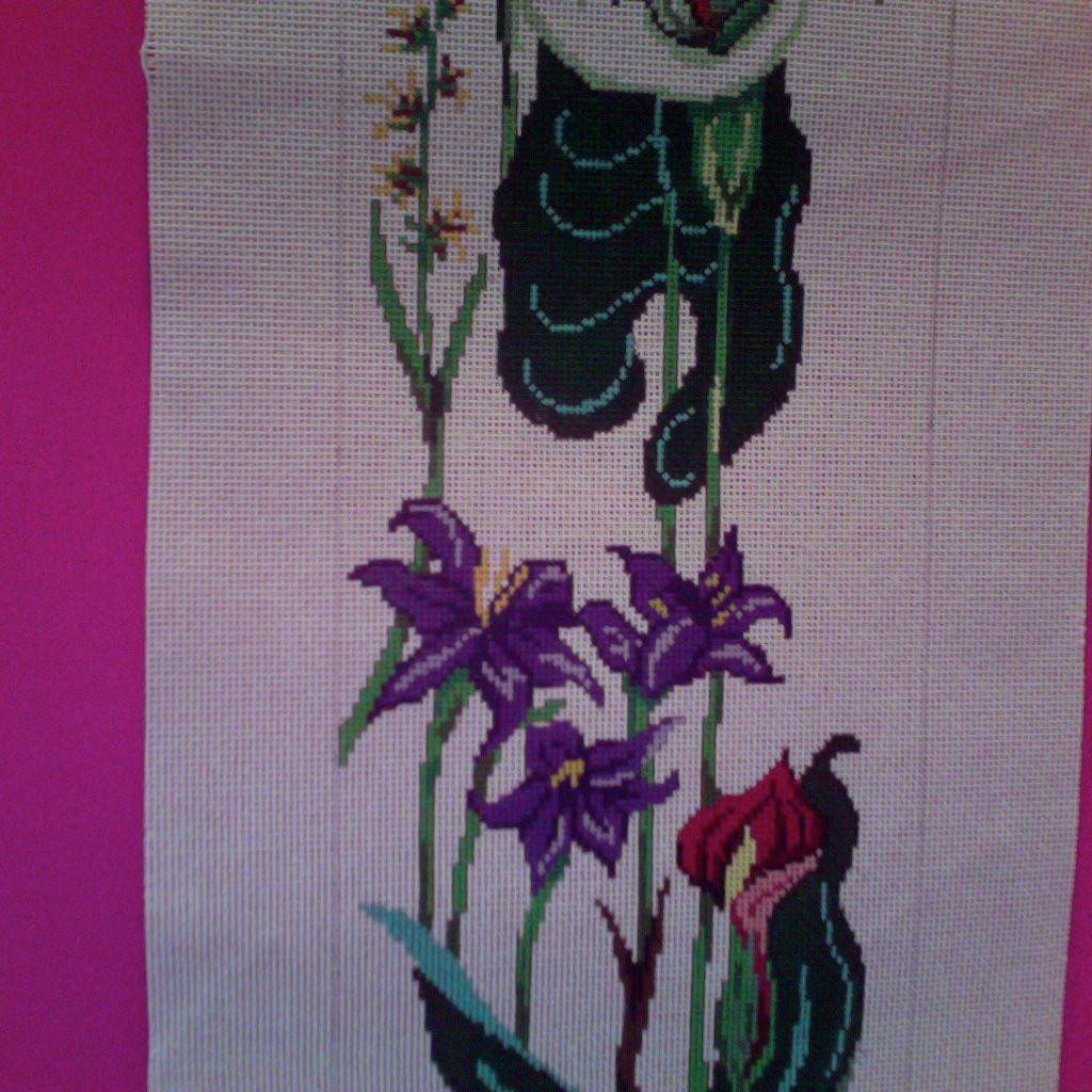 Canvas CALLA LILLY BELLPULL 3050<br /> SALE  REG $208