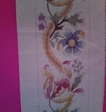 Canvas FLORAL BELLPULL  BP28