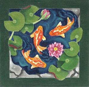 Canvas PATIO KOI  132782