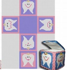 Canvas TOOTH FAIRY BOX - GIRL