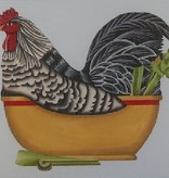 Canvas ROOSTER BOWL  MLT209B