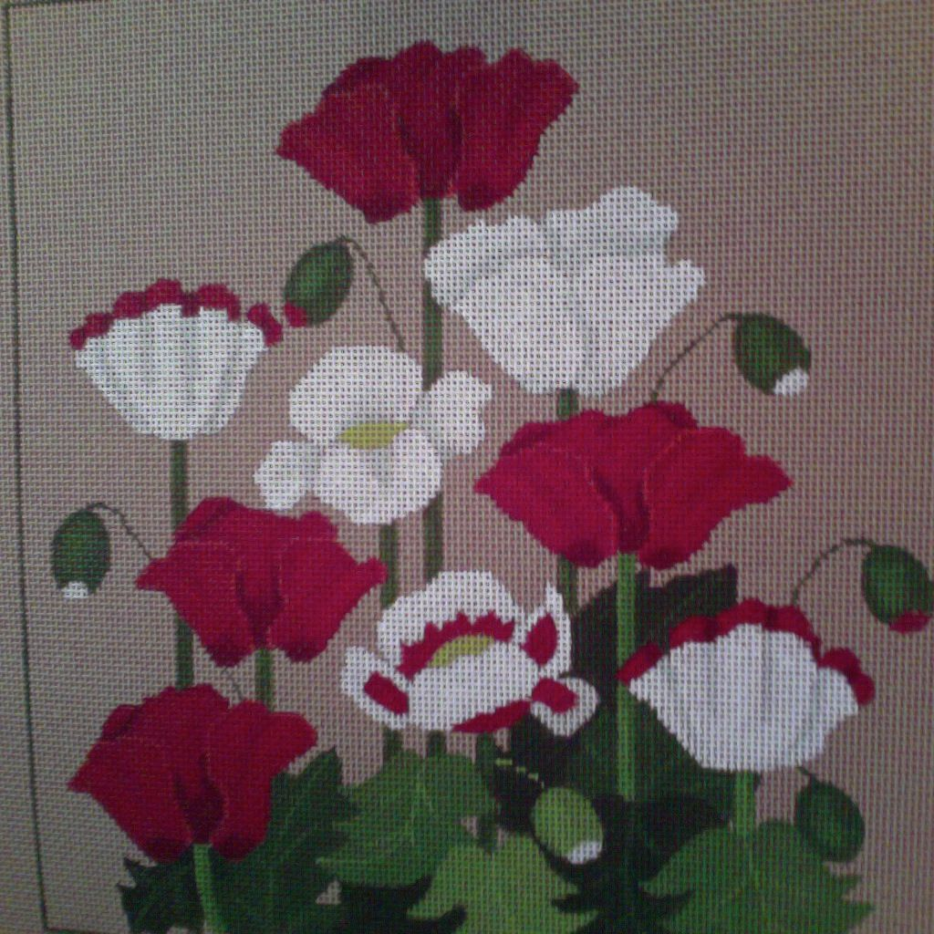 Canvas POPPIES  518