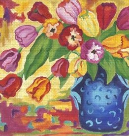 Canvas TAPESTRY TULIPS  132851
