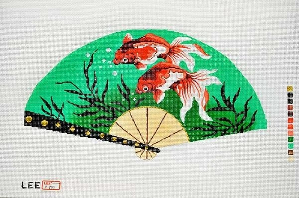 Canvas GOLDFISH FAN F788