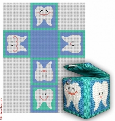 Canvas TOOTH FAIRY BOX - BOY