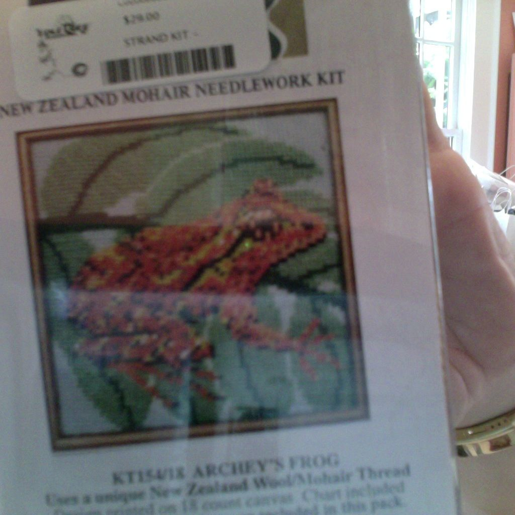 Canvas STRAND KIT -  ARCHEY'S FROG
