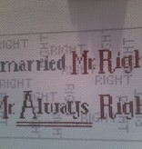 Canvas I MARRIED MR.....S32 - SALE<br /> REG 48.00
