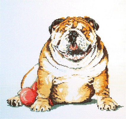 Canvas RALPH THE BULLDOG