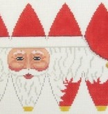 Canvas SANTA FACE HOT AIR BALLOON  5299