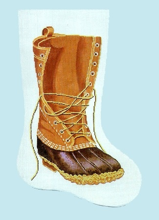 Canvas LL BEAN BOOT STOCKING C64