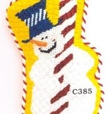 Canvas BARBERSHOP SNOWMAN  C385